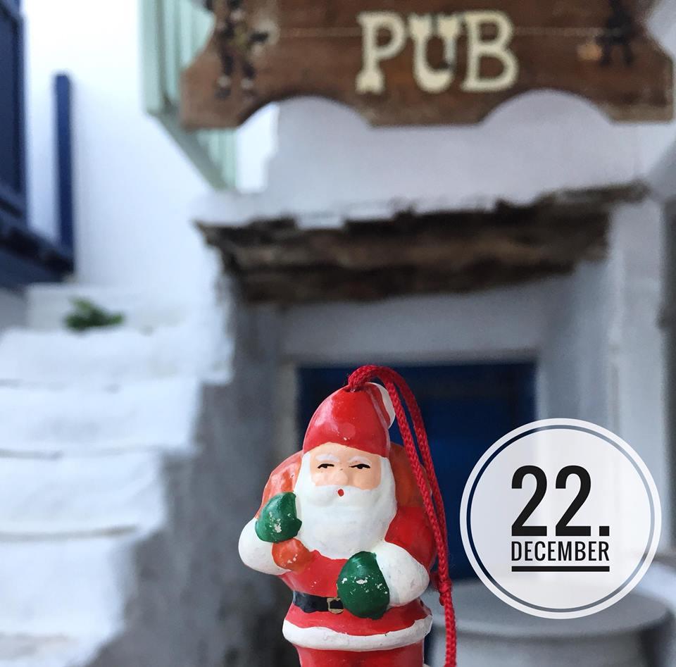 Christmas calendar Antiparos