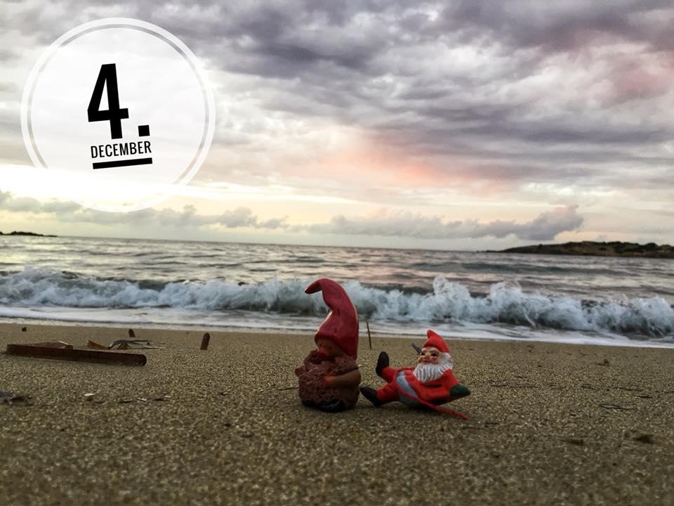 Christmas calendar from Antiparos